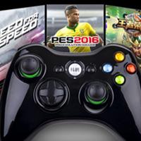 电脑游戏手柄pc360双摇杆,双振动,力反馈扳机,有线玩手游 加OTG