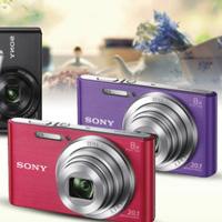 索尼 DSC-W830 数码照相机高清2000万像家用卡片机